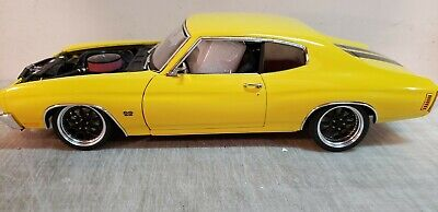 ACME: 1:18 1970 CHEVROLET  STREET FIGHTER IN YELLOW - A1805515 - BEST PRICING!!!