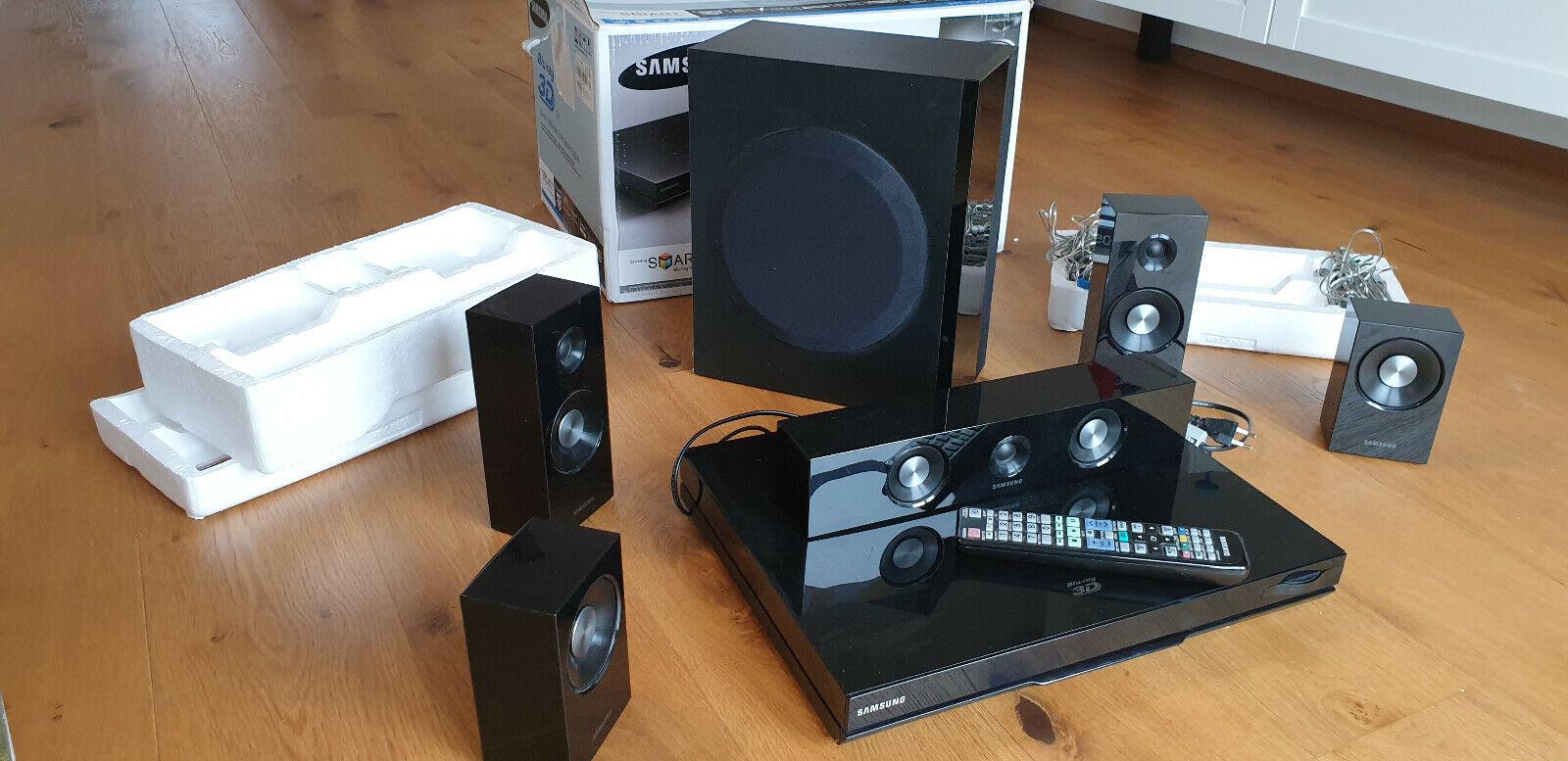 Samsung HT-D5500 5.1 3D-Blu-ray Heimkinosystem (HDMI, USB)