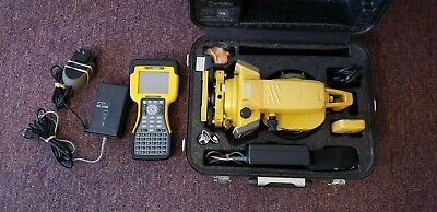 Topcon Gpt 3005w Bluetooth Total Station Tds Ranger 500x Data Collector Combo