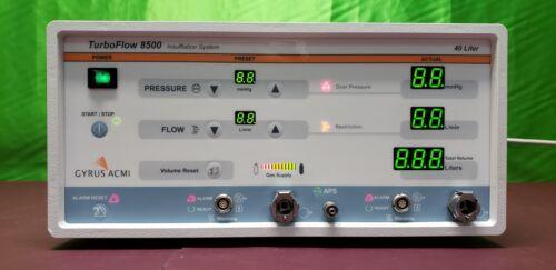 Gyrus Acmi 8500 Abdominal Insufflator 40 Liter System Ref:008500-901