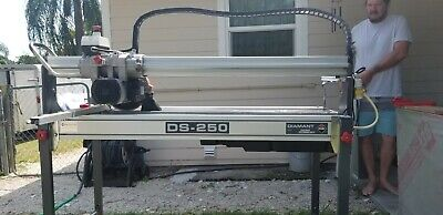 Rubi Wet Saw 3 Horse Motor Model Ds-250 Inch Bought New In 2012