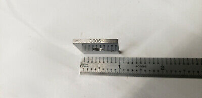 .1006 Ellstrom Square Steel Gage Gauge Block.