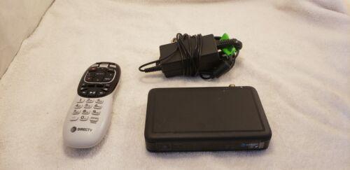 Direct TV C61-100 Mini Genie HD Receiver & AC Adapter Power Supply + Remote  -A-