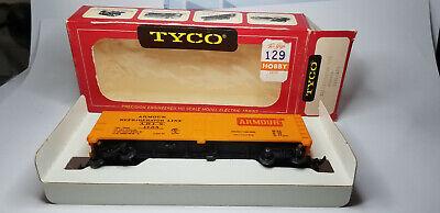 Vintage TYCO 329C HO ARMOUR ARLX 1754 Line Advertising Billboard Train Box Car