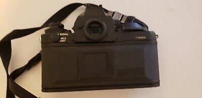 Canon F1-N SLR with AE view finder.  there are of use but the camera works fine.