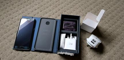 BRAND NEW! Samsung Galaxy S7 Edge 32gb Black Dual Sim