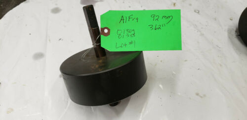 """Alfra 01309 3-5/8"""" 92mm Square Knockout Punch Die Set 01343 Tie Draw Stud. lot#1"""