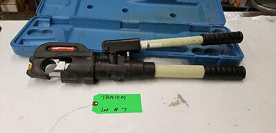 Thomas Betts Tbm14m 297-31858 14-ton Hyd Crimp Crimping Tool No Dies Lot7