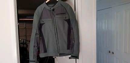 Harley Davidson Mesh Riding Jacket XL (4 season liner included)