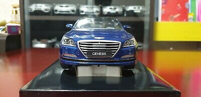 1:18 Minikraft Hyundai Genesis G380 Blue Limited Dealer edition