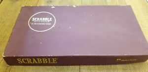 Vintage scrabble set. Complete great condition!