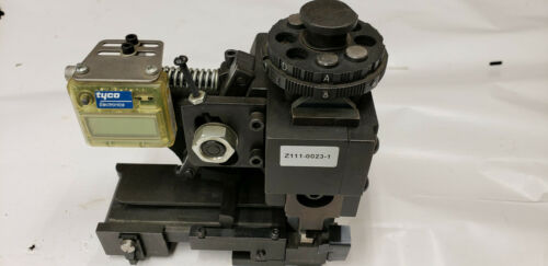 Amp Tyco 466647-4-S Applicator Assembly, S/N 627265 USED