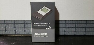 Digital Radon Meter - Rechargeable Digital Radon Gas Monitor. Model Rd-35