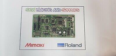 Genuine Roland Soljet Pro Iii Xj 640 Printer Assy Servo Board 6700731000