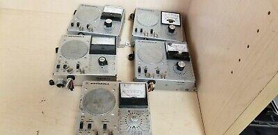 Lot Of 5 Motorola Tln1857a Tln5900a Micor Station Metering Box