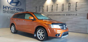2011 Dodge Journey R/T+V6+AWD+DEMARREUR+CUIR+BANCS CHAUFF