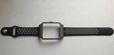 Sony SmartWatch 3 SWR50 BLACK GALAXY Adapter & GREY Dots Silicone Strap
