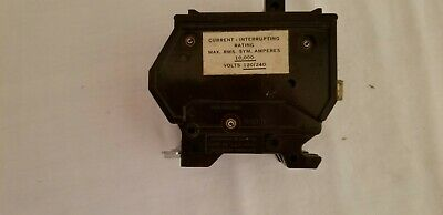 Circuit Breaker Wadsworth A230 30 Amp 2 Pole Metal Tabs Plug In