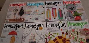 Homespun Sewing Magazines