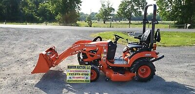 2018 Kubota Bx2380 Compact Loader Tractor Wmower Only 24 Hours Warranty