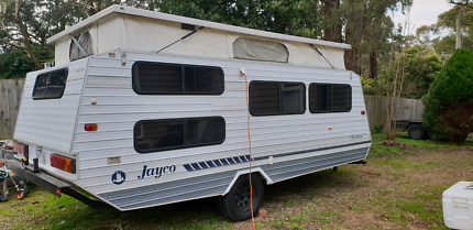 1990 Jayco pop top caravan with bunks Emerald Cardinia Area Preview