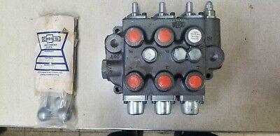 Sba222 Universal Triple Spool Control Valve 2000 Psi Open Center John Deere