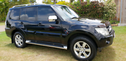 2006 Mitsubishi Pajero NS VR-X LWB (4x4) Black Auto Wagon. Townsville Townsville City Preview