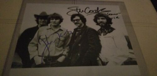 Creedence Clearwater Revival Autographed In Person 8x10 w/ COA