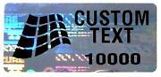 Custom Warranty Sticker