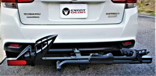 GREAT NEW HITCH RACK TAKES MOST BIKES EASILY -ROAD, MTB, FAT -EVEN  E-BIKES!