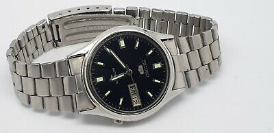 VINTAGE SEIKO 6S26-0280 AUTOMATIC DAY/DATE  JAPAN MADE MEN'S WATCH