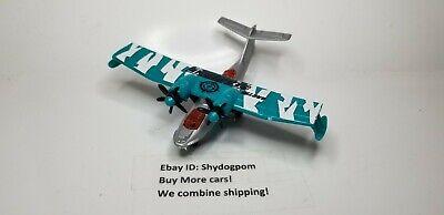 Matchbox Sky Busters Arctic Seaplane Die-cast Hydro Prop Plane Mattel Airplane