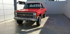 1984 Restored K10 Chevy Pick Up 4x4 Clontarf Redcliffe Area Preview