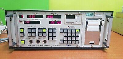 Gn Elminettest Ztek 75312 Multi Frequency Test Equipment