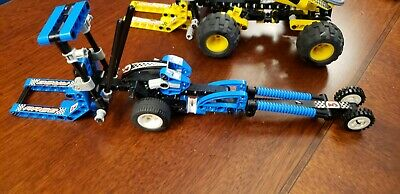 LEGO Technic Speed Slammers Stunt Bike and Dragsters (8240, 8238)