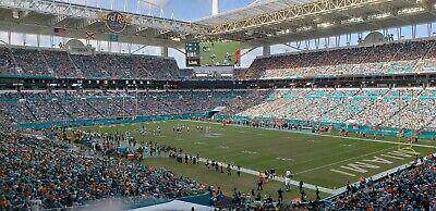 1-17 Cincinnati Bengals vs Miami Dolphins Tickets 12/06/20 (Miami Gardens)