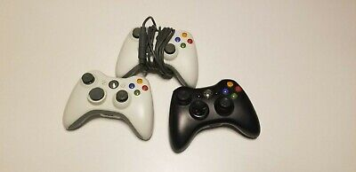 Official Microsoft Xbox 360 Wireless Video Game Controller Tested & Works OEM