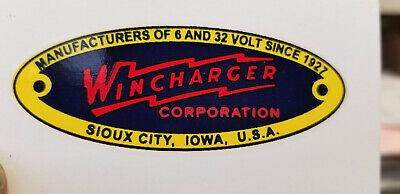 Wincharger Propeller Decals Water Slide Type just like the originals