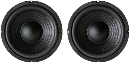"NEW Pair (2) 6.5"" 6 1/2"" inch Woofer replacement for JBL Klipsch high bass 8 ohm"