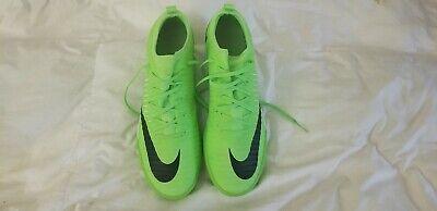 Nike Mens Mercurialx Finale II IC Soccer Shoes 11 Flash Lime Green Lime Green Soccer Shoes