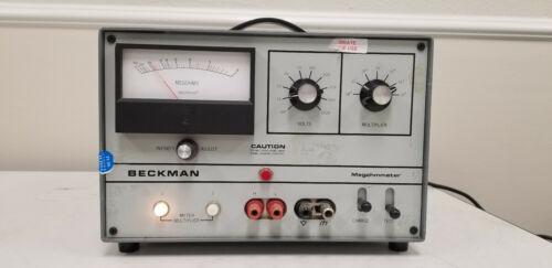 Beckman L-10A Megohmmeter Nice
