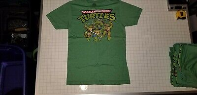 Bioworld Mens Retro TMNT Ninja Turtles Green Shirt Size S, M, L, XL, XXL NWOT - Ninja Turtle Shirt