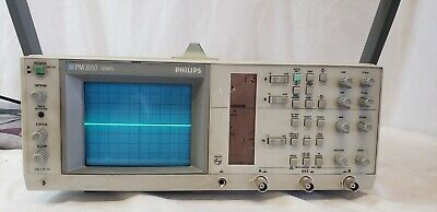 Philips Pm 3050 Pm3505 60hz Dual Channel Oscilloscope - Fluke Calibrated