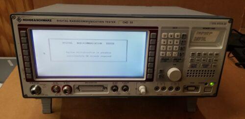 Rohde & Schwarz CMD59 Digital Radio Communication Tester READ!