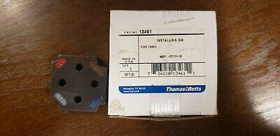 Thomas Betts 13461 Crimping Tool Die Set