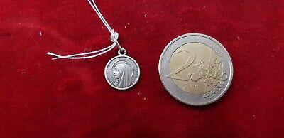 Pendant Medal Religious Solid Silver Virgin Marie REF45206