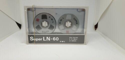 AML Super LN 60 Cassette Tape (Sealed)