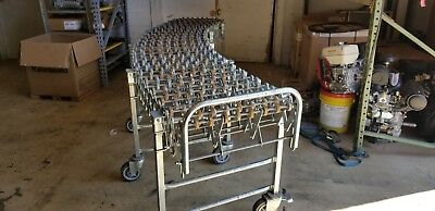 Nestaflex 376 Skate Wheel Gravity Fed Flexible Roller Conveyor. 5 - 11
