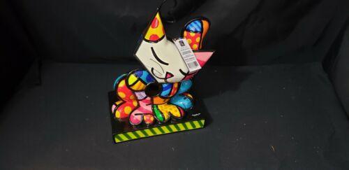 "Romero Britto 10.5"" Hanging Cat Birdhouse Polyresin #331612   New MIB"