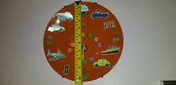 Custom Made Wall Clock Table or Wall MountClocks can hang on the wall and stand